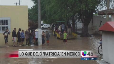 Lo que Patricia dejó en México