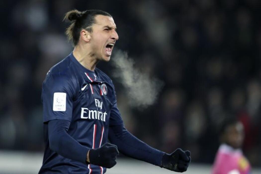 Zlatan Ibrahimovic: El extrovertido sueco inició el año con el Milan, eq...
