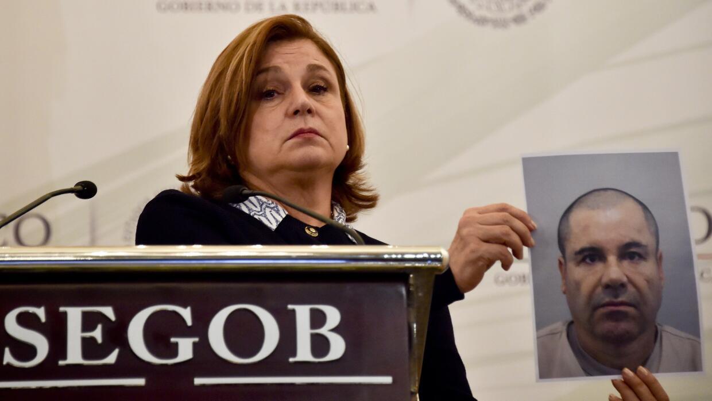 Arely Gómez, la fiscal federal.