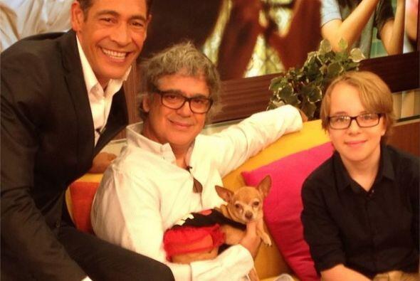 """""""Con Ed Oxenbould y Miguel Arteta de Alexander And The Terrible, Horribl..."""