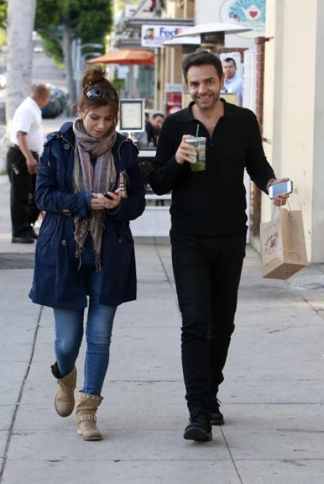 Desde que anunciaron su embarazo, la pareja se ve más feliz que nunca.