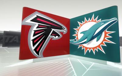 Dolphins 17-6 Falcons: El ataque terrestre de Miami dominó el partido