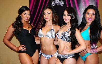 Mira la candente pasarela de bikinis de las bellas de Houston