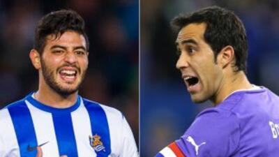 Carlos Vela y Claudio Bravo están cerca de abandonar a la Real Sociedad.