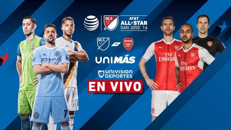 EN VIVO | Estrellas de la MLS vs Arsenal | AT&T MLS All-Star Game 2016