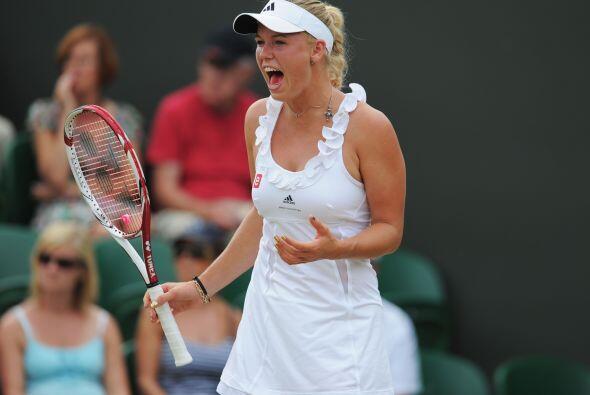 La favorita y número uno del mundo, la danesa Caroline Wozniacki,...