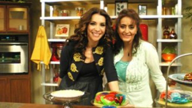 Desde California la chef Nelly Gail le enseña a Maggie nuevas formas de...