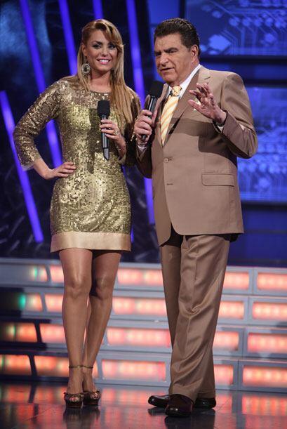 La cita es cada semana en Sábado Gigante que se transmite por Univision.