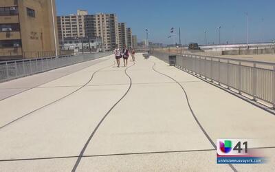 Reabren tablado completo de Rockaway Beach