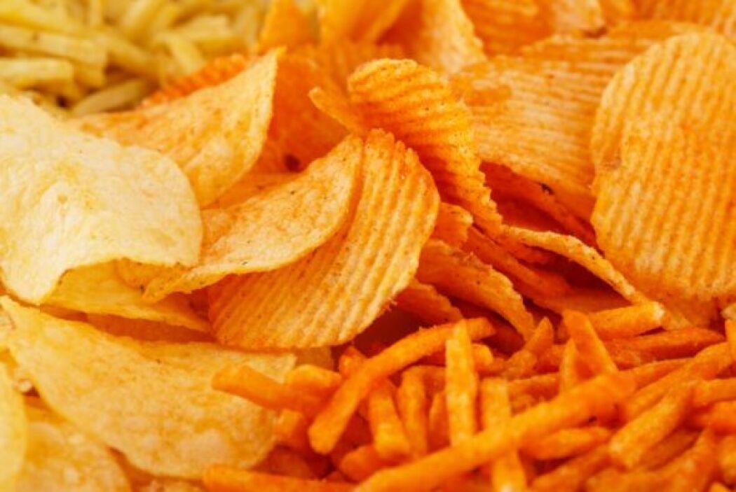 """#7. Grasas trans """"Las patatas, el pescado, el pollo frito y los sándwich..."""