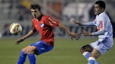 Real Garcilaso venció 1-0 a Nacional de Uruguay en partido de ida de oct...
