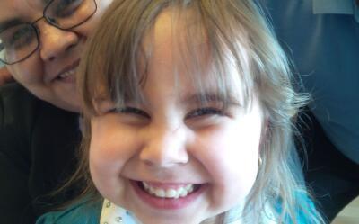 Daniela de Ávila, de 4 años, padecía cardiomiopatía.