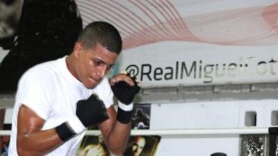 Jantony Ortiz peleará en Las Vegas. (Cortesía de Miguel Cotto Promotions)