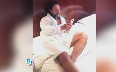 Taco de ojo para sus seguidoras, Marco Antonio Solís posó en las redes m...