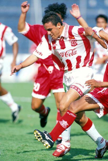 Luego, al siguiente campeonato, en el Verano 98, Blanco entró de cambio...