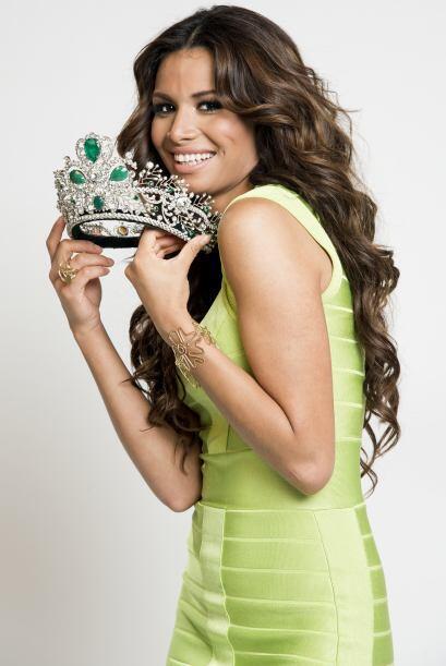 La nueva reina de Nuestra Belleza Latina, Marisela Demontecristo realizó...
