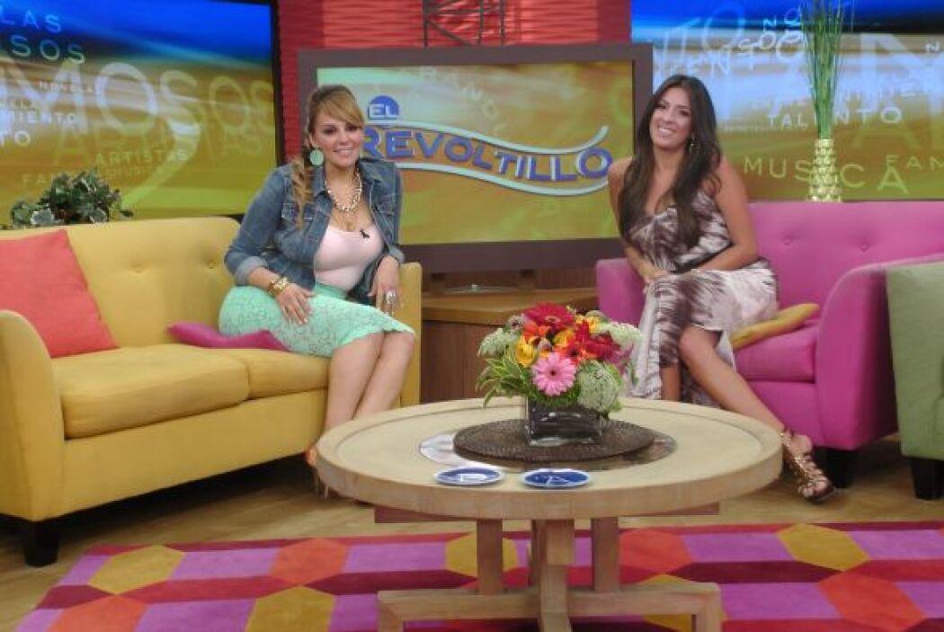 Risie Rivera acompañó a Maity en El Revoltillo y lo hizo como una expert...
