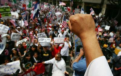 Organizaciones proinmigrantes preparan marchas para el 1 de mayo 'Día de...