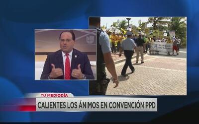 Perelló dice unionados que se manifestaron en convención del PPD son un...