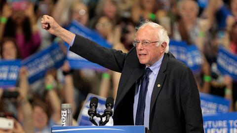 Bernie Sanders sigue manteniendo su curiosa racha