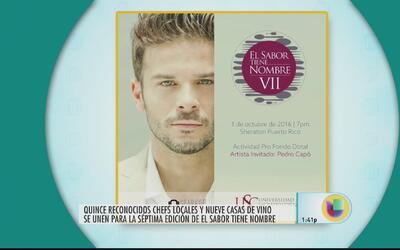Evento culinario 'El Sabor no tiene nombre'