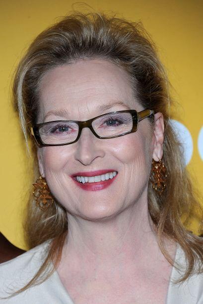"MERYL STREEP- La actriz que ganó su tercer Oscar este 2012 por ""The Iron..."
