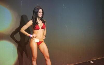 "La preciosa Cubana ""Alina Rodriguez"" audiciona para Nuestra Belleza Lati..."