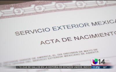 ¿Cómo tramitar su acta de nacimiento en un consulado de México en EEUU?