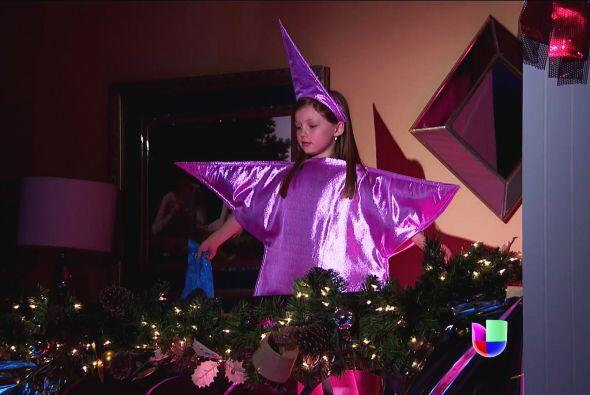 ¿Y esa estrella tan linda? ¡Ahhh! Eres tú Luz, eres...
