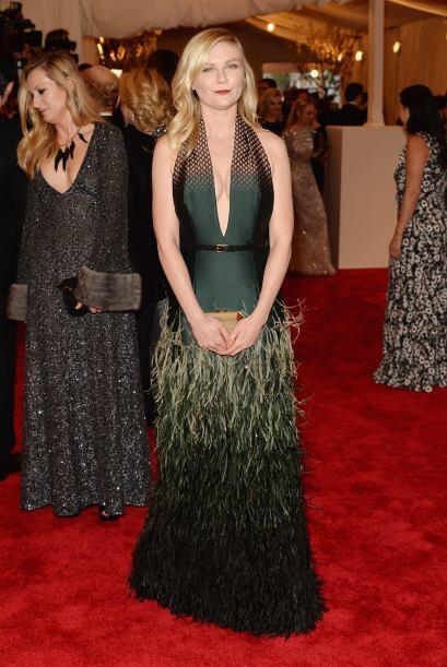 Creemos que Kirsten Dunst no entendió que la temática era...
