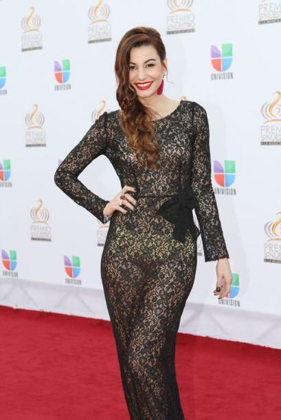La Nuestra Belleza Latina y modelo de Sábado Gigante robó miradas.