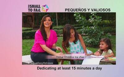 Bárbara y Jorge invitan a padres a leer a sus hijos por lo menos 15 minu...