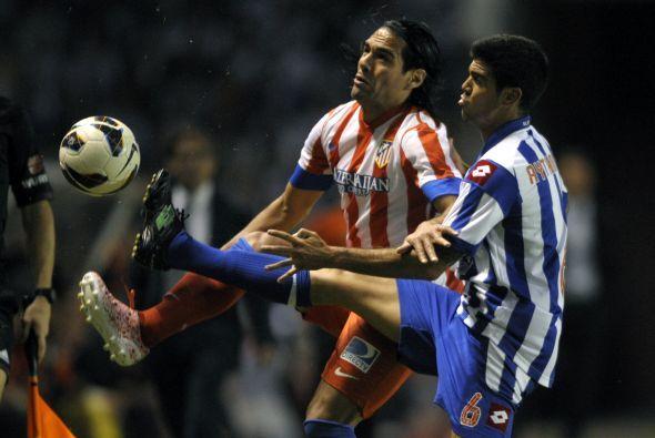 Radamel Falcao se quedó con 26 tantos tras el 0-0.