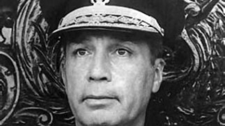 El expresidente de facto peruano Francisco Morales Bermúdez. (Imagen tom...