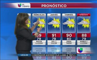 Puerto Rico espera dos nuevas ondas tropicales