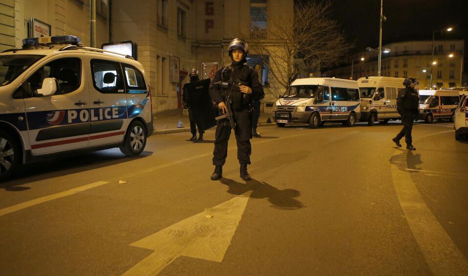 Tiroteo en los suburbios de Saint-Denis