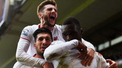 Liverpool venció al Palace 'in extremis'