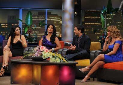 Al show llegaron Marisa del Portillo, Juan Manuel Torres y Tania Charry.