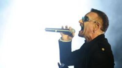 """U2 cederá durante 24 horas su tema """"Invisible"""" para la lucha contra el S..."""