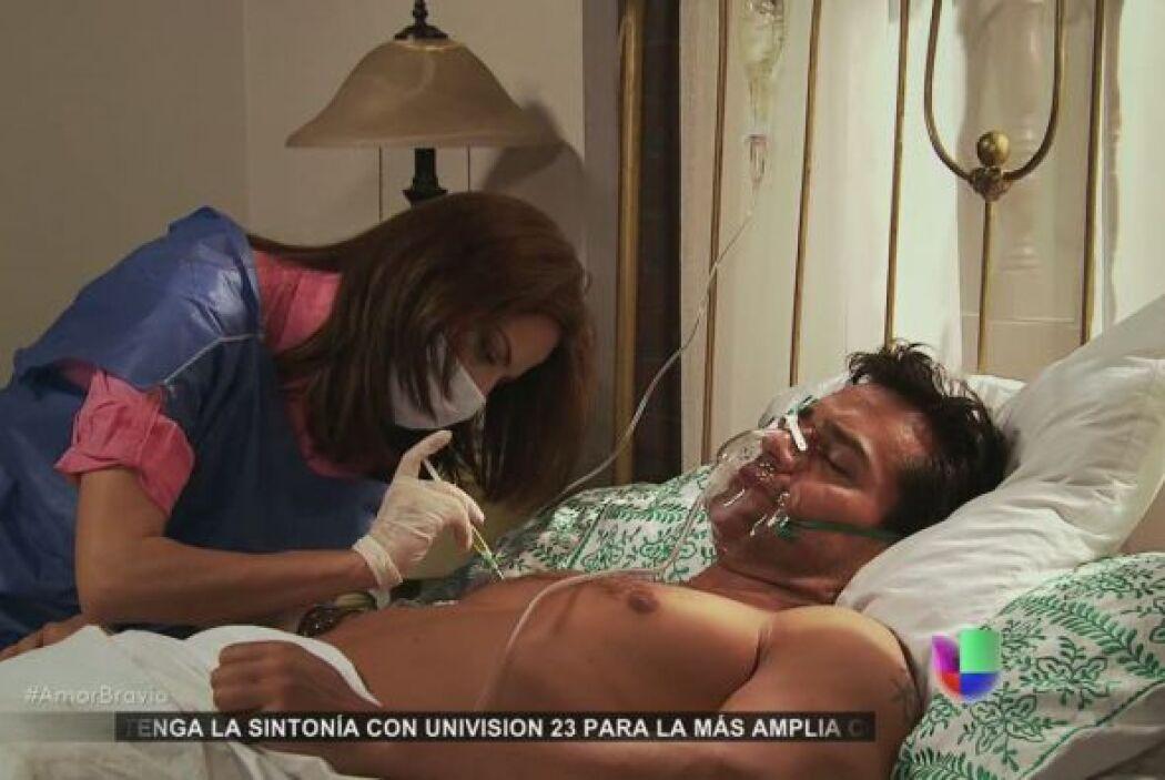 Por fin, Daniel recibe la vacuna, ahora sólo queda esperar a que haga su...