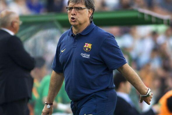 Gerardo Martino, técnico de los 'culés', no soportaba la f...