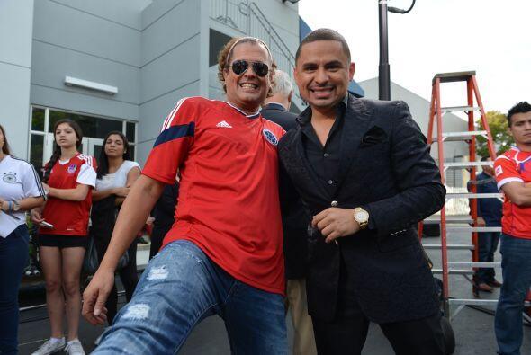 Carlos Vives y Larry Hernández también fueron parte de est...