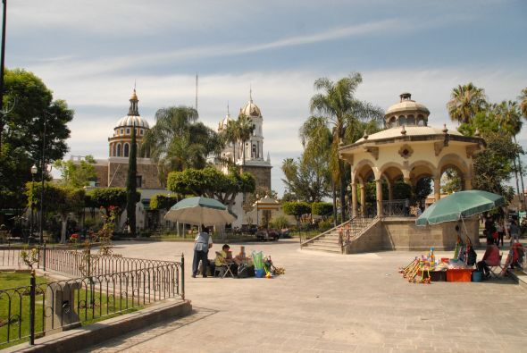 Ana quedó enamorada de estos bellos paisajes, Tlaquepaque es un lugar he...