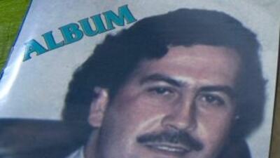 El capo colombianoPablo Escobar.