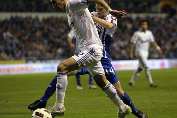 Angel Di María tuvo buenas oportunidades y generó juego, p...