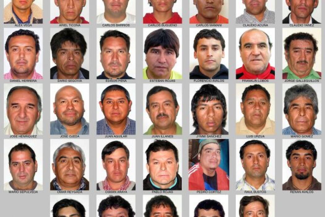 Los 33 mineros han sido considerados héroes por resistir más de dos mese...