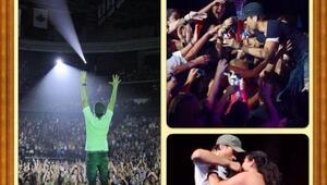 Enrique Iglesias desata la locura en todas sus fans cuando se sube al es...