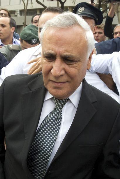 Moshe Katsav:El ex presidente israelí fue acusado, en diversas ocasione...