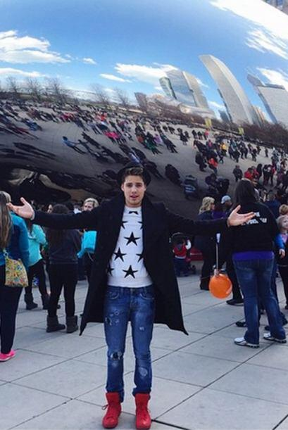 '#TheBean', comparitó William. (Abril 4, 2015)