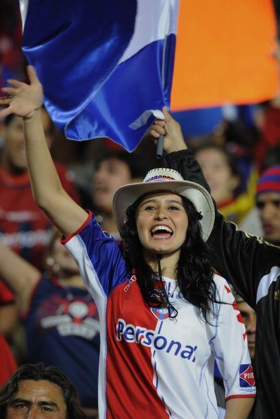 Cerro Porteño pasó a cuartos de final y ella también, y va a seguir esta...